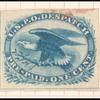 1c blue Eagle carrier stamp