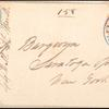 1c blue Eagle carrier stamp on US stamped envelope
