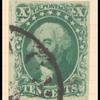 10c green Washington Type IV single
