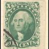 10c green Washington single
