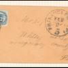 1c blue Eagle carrier single on cover