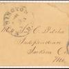 1c blue Eagle carrier single amd 3c red Washington single on cover