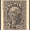 12c black George Washington single