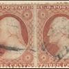 3c rose Washington horizontal pair