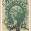 10c green Washington Type V single