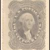 24c gray lilac Washington relief 2 single
