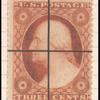 3c Washington Type II single
