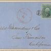 10c yellow green Washington on cover
