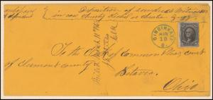 12c black Washington on cover