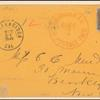 12c black Washington, 10c green Washington on cover