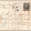 12c black Washington pair on cover