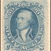 90c blue Washington single