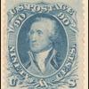 90c blue Washington single