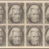 2c black Jackson horizontal block of eight