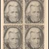 2c black Jackson vertical block of eight