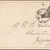 2c black Jackson bisect pair on cover