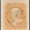 30c orange Franklin F. Grill single