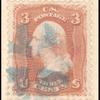 3c rose Washington F. Grill single
