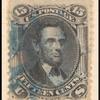 15c black Lincoln E. Grill single