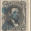 15c black Lincoln F. Grill single