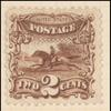 2c brown Post Horse & Rider single