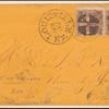 2c brown Post Horse & Rider pair on cover