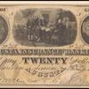 $20 Augusta Insurance and Banking Co. banknote