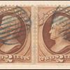 2c red brown Jackson pair