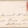 6c carmine Lincoln single on cover
