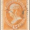 15c orange Webster single