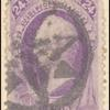 24c purple Scott single