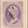 24c purple Scott single