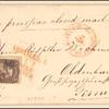 5c brown Jefferson and 10c yellow green Washington on cover