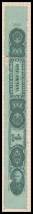1 ounce green tobacco revenue stamp