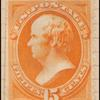 15c bright orange Webster single
