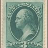 3c green Washington single