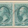 3c green Washington pair