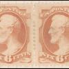 6c dull pink Lincoln pair