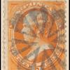 15c yellow orange Webster single