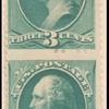 3c blue green Washington pair