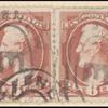 6c rose Lincoln pair