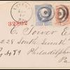 6c pink Lincoln pair on cover