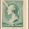 2c green Washington single