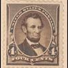4c dark brown Lincoln single