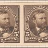 5c chocolate Grant proof pair