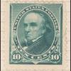 10c green Webster single