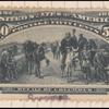 50c slate blue Recall of Columbus Specimen single