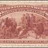 $2 brown red Columbus in Chains Specimen single
