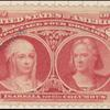 $4 crimson lake Queen Isabella & Columbus Specimen single