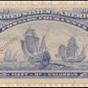 4c ultramarine Fleet of Columbus Specimen single